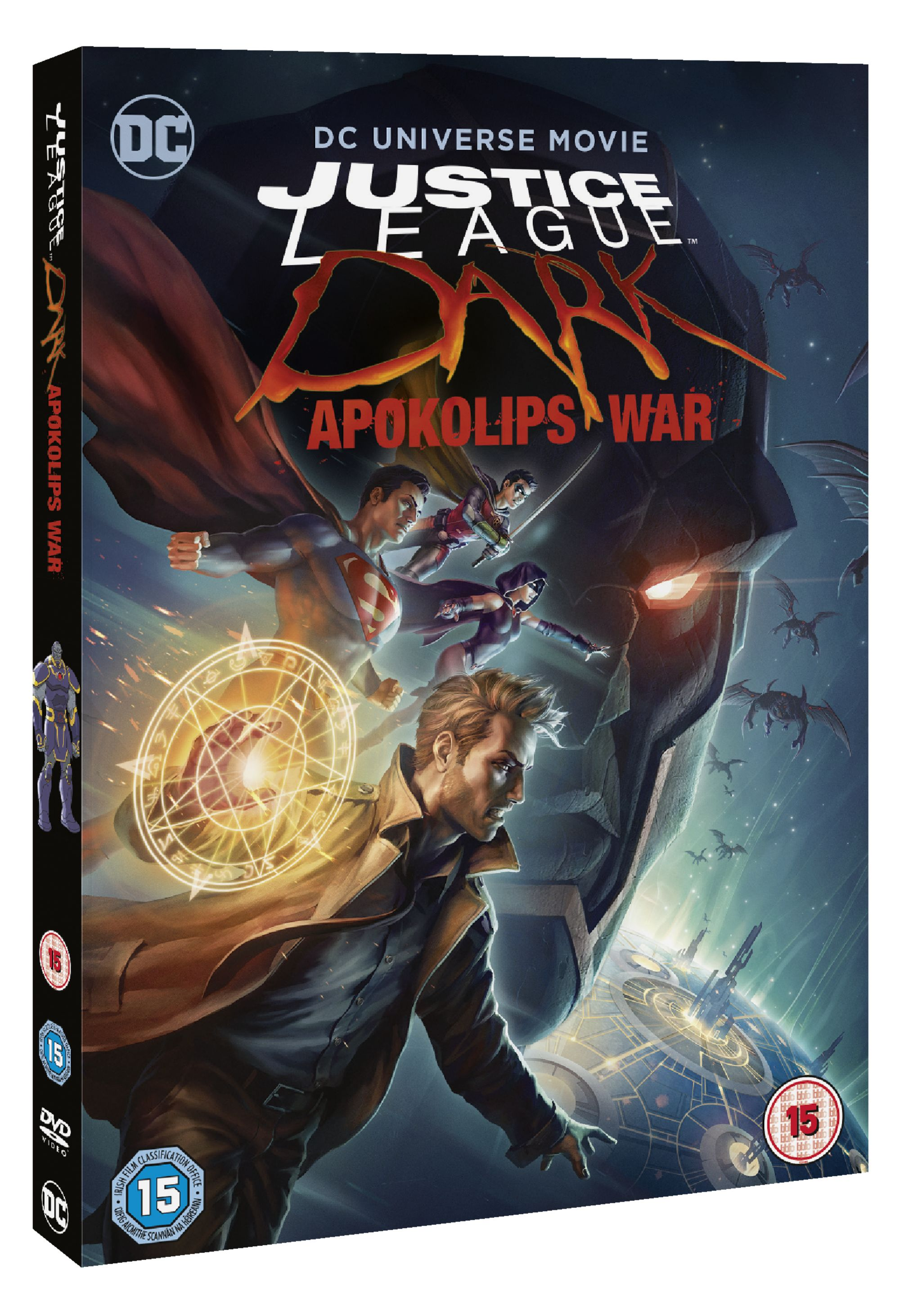 Justice-League-Dark-Apokolips-War-2020-DVD-Roger-R-Cross-Rosario-Dawson miniatuur 3